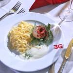 Hochwertiges Essen im 3G Ladungssicherungskompetenzzentrum