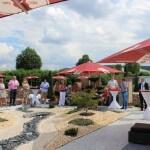 Außenbereich-Event auf dem Gelände des 3G Kompetenzzentrum
