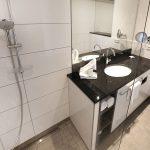 Badezimmer im 3G Hotel