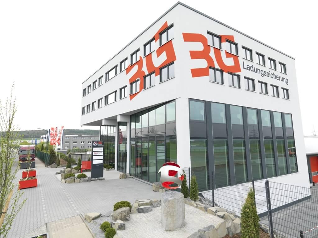 Gebäude unseres Kompetenzzentrums für Ladungssicherung