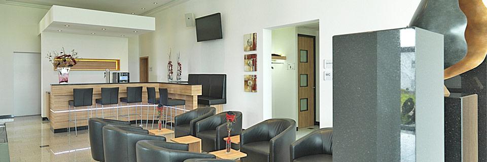 3G Tagungsräume und Event-Location - Empfangsbereich