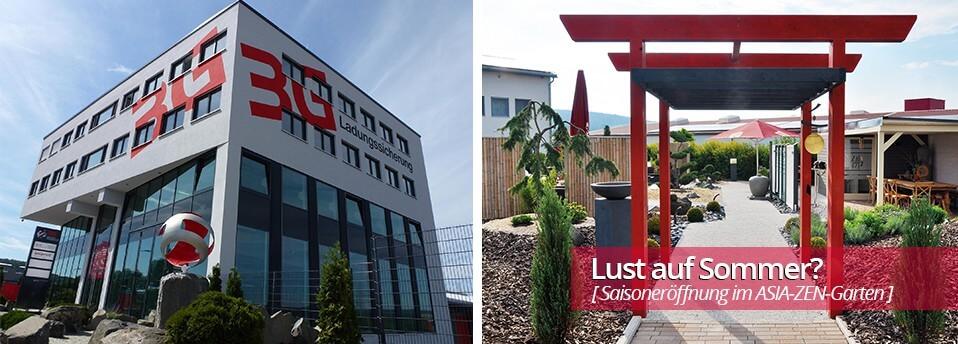 Startseitenslider 3G-Kompetenzzentrum mit Asia-Zen-Garten