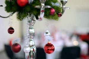 Weihnachtsfeier 3G Kompetenzzentrum - Kerzenständer